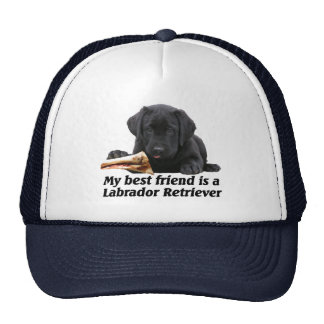 "Cap ""labrador retriever "" trucker hat"