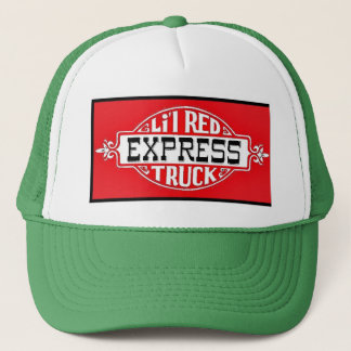 Cap Lil Red red Truck