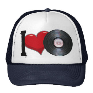 Cap Love Vinyl Trucker Hat