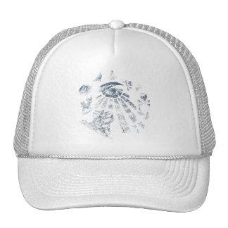 Cap Masonic Fantasy Blue Mesh Hats