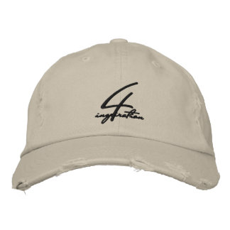 Cap of baseball afflicted 4inspiration embroidered hats