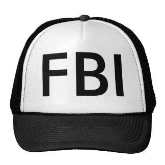 Cap of FBI Trucker Hat