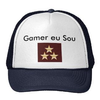Cap On Gamer (Blue With White) Trucker Hat