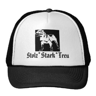 Cap Rottweiler Trucker Hat