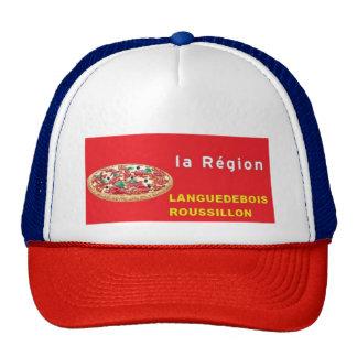 "cap ""set language "" trucker hat"