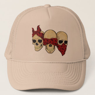 "Cap ""Skull (deaf, blind, dumb) """