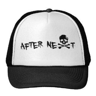 Cap Soon After Skull Trucker Hat