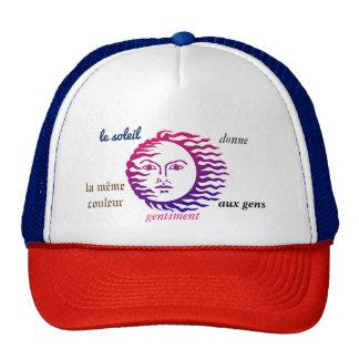 """cap """"sun """" trucker hat"""
