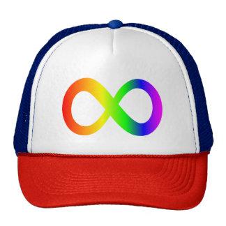 cap symbol of the infinite one trucker hat