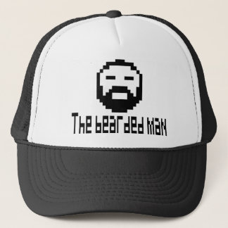 cap the bearded man 8 bit