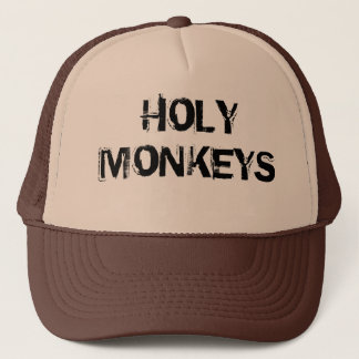 Cap to trucker Holy Monkeys