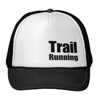 "Cap ""Trail Running "" Trucker Hat"