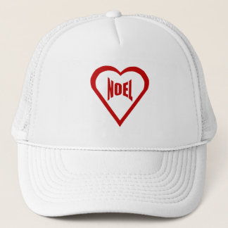 CAP TRUCKER CHRISTMAS HEART