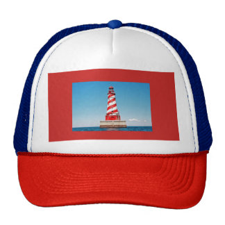 Cap with a Lighthouse Trucker Hat