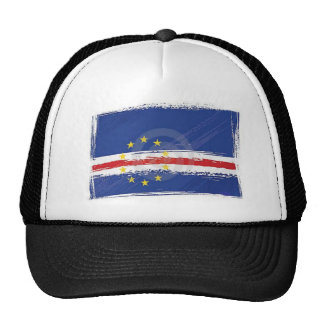 cap with Cape Verde flag Trucker Hat