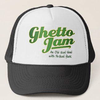 Cap with Logo Text and slogan
