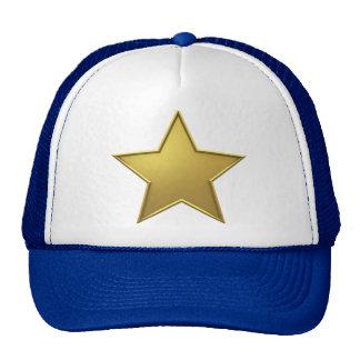 Cap with star trucker hat