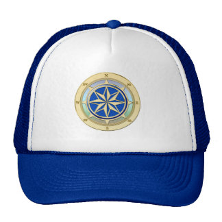 Cap with Wind rose Trucker Hat