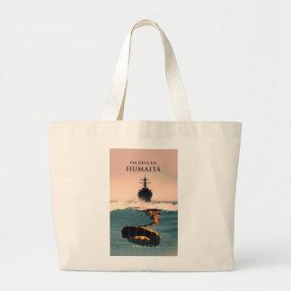"""Capa do livro """"Um Deus em Humaitá"""" Large Tote Bag"""