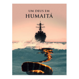 """Capa do livro """"Um Deus em Humaitá"""" Postcard"""