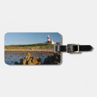 Cape Agulhas Lighthouse, Western Cape 2 Luggage Tag