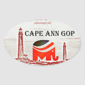 Cape Ann GOP sticker