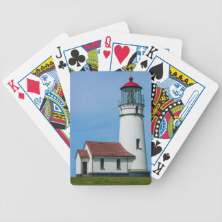 Cape Blanco Oregon Lighthouse Bicycle Playing Cards