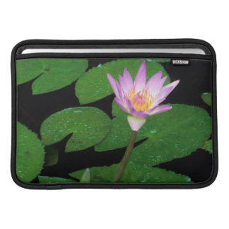 Cape Blue Water Lily (Nymphaea Capensis) MacBook Sleeves