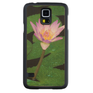 Cape Blue Water Lily (Nymphaea Capensis) Maple Galaxy S5 Slim Case