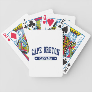 Cape Breton Bicycle Playing Cards