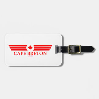 CAPE BRETON LUGGAGE TAG