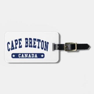 Cape Breton Luggage Tag