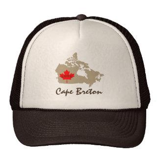 Cape Breton Nova Scotia Customize Canada hat