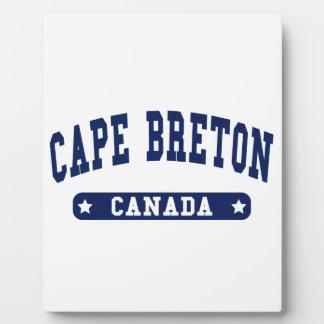 Cape Breton Plaque