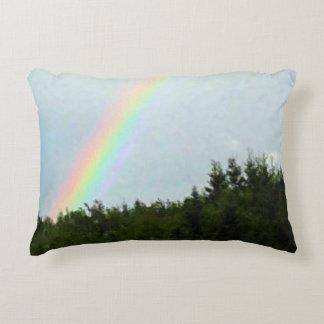 Cape Breton Rainbow Accent Pillow