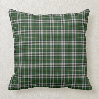 Cape Breton Tartan Custom green Plaid Throw Pillow
