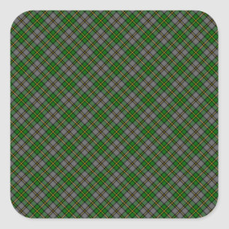 Cape Breton Tartan Designed Print (Canada) Square Sticker