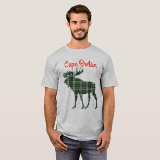 Cape Breton tartan moose cute shirt