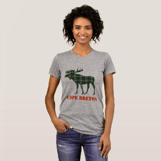 Cape Breton Tartan plaid moose customizable shirt