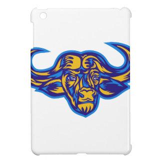 Cape Buffalo Head Retro iPad Mini Covers