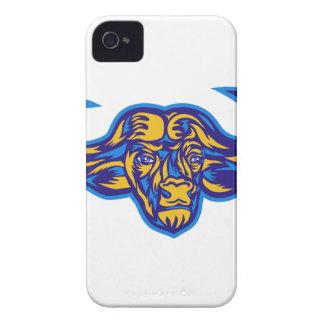 Cape Buffalo Head Retro iPhone 4 Case