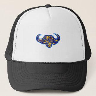 Cape Buffalo Head Retro Trucker Hat