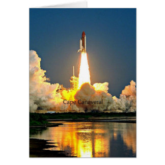Cape Canaveral Florida Launch Pad Card