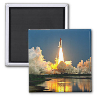 Cape Canaveral Launch Pad Magnet