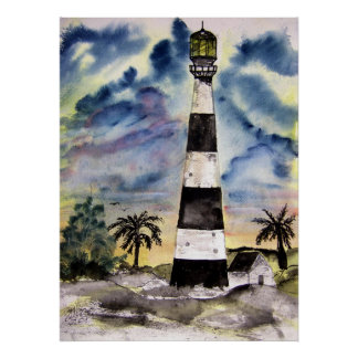 cape_canaveral_lighthouse poster