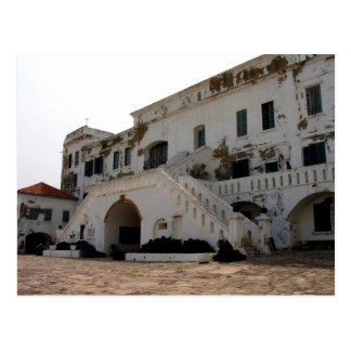 cape coast castle postcard