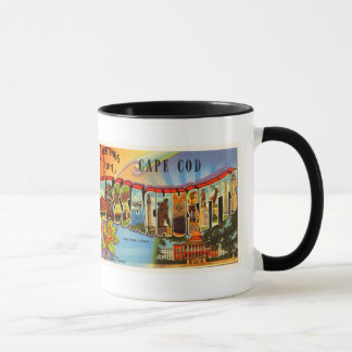 Cape Cod #2 Massachusetts MA Old Travel Souvenir Mug