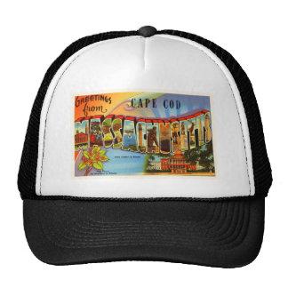 Cape Cod #2 Massachusetts MA Old Travel Souvenir Trucker Hat