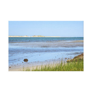 Cape Cod Bay ocean beach Canvas Print