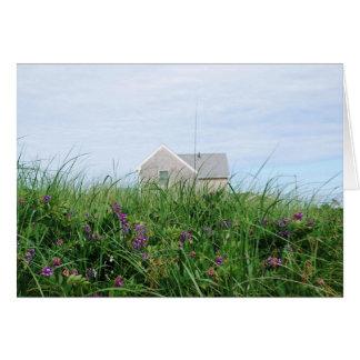 Cape Cod Beach House Note Card